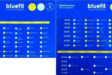 Academia Bluefit - São Vicente
