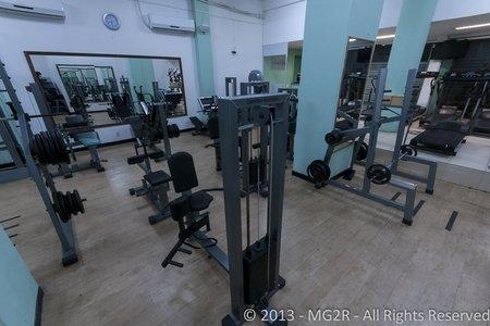 Complere Academia - Sala de musculação da Academia Complere