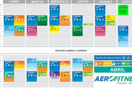 Aerofitness Pueblo Nuevo