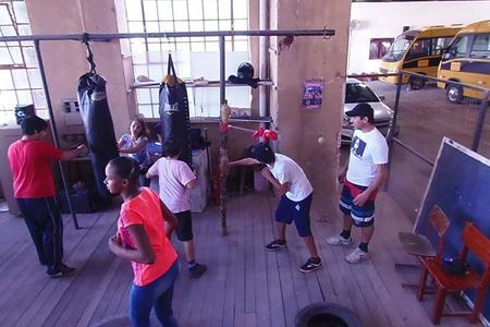 Equipe de Boxe Punho de Ouro