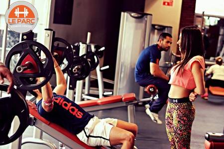 Le Parc Gym Zona Universitaria -