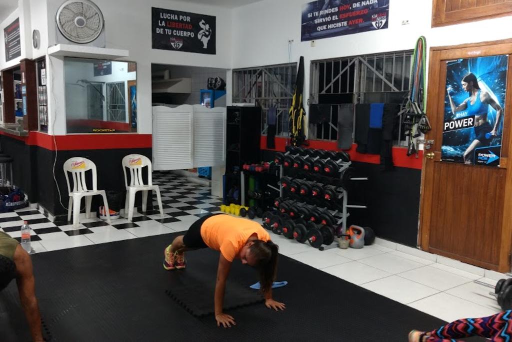 Gimnasio kia kaha fitness revoluci n veracruz for Gimnasio 55 minutos