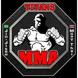 Titans Mma Black Fight - logo