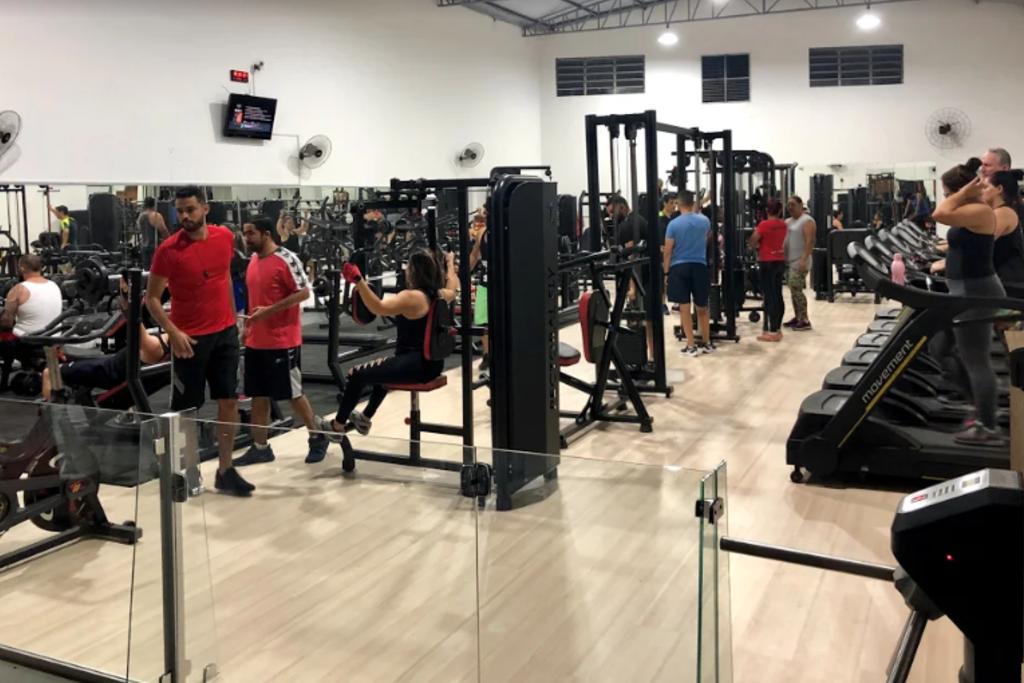 Academia Alpha Fitness - Jardim São Sebastião - Presidente ...