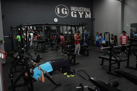 Industrial Gym