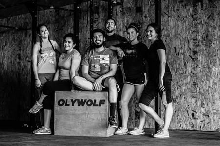 Oly Wolf Strength -