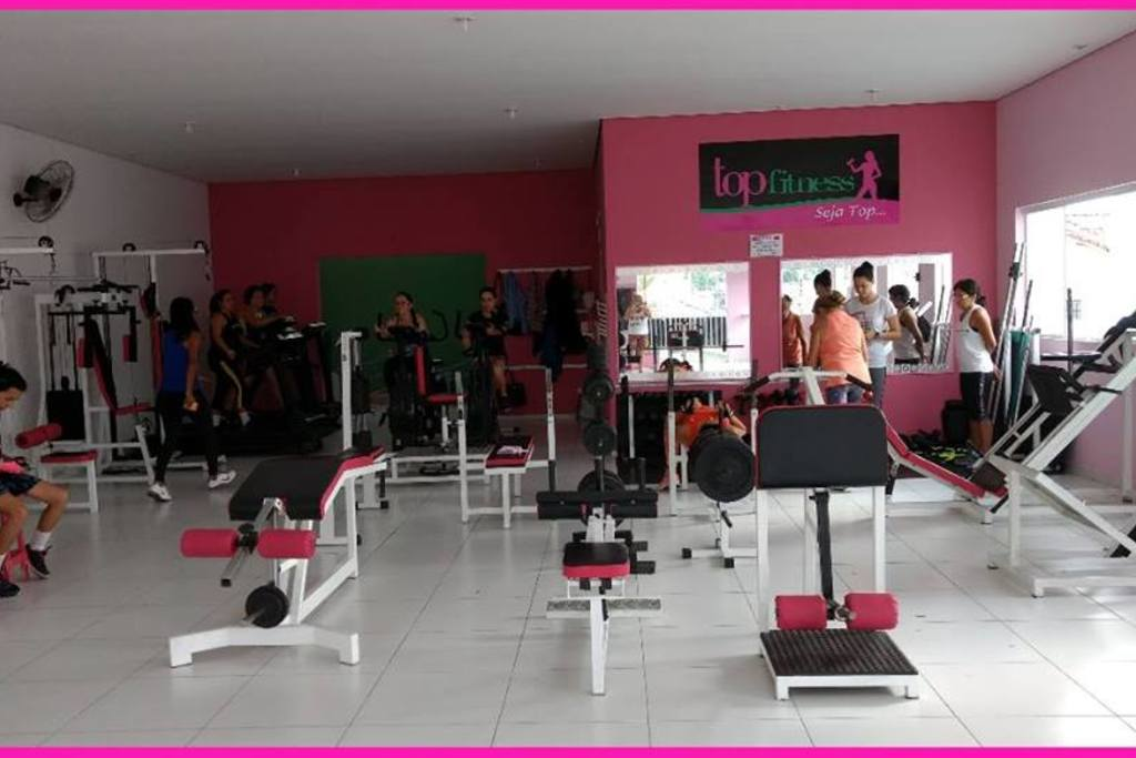 16c79a89a Top Fitness Academia Feminina - Pq Itamaraty - Jacareí - SP - Rua ...