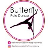 Butterfly Pole Dance - logo