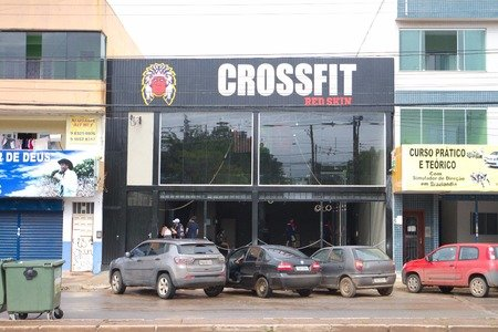Crossfit Red Skin