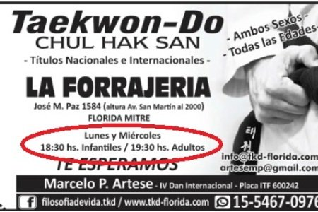 Tae kwon do Florida (Vte Lopez)