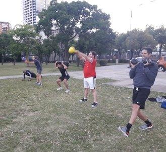 Chris Deportes entrenamiento– Sede Belgrano -