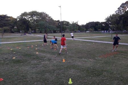 Chris Deportes entrenamiento– Sede Belgrano