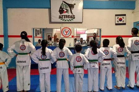 Aztecas Taekwondo Central -