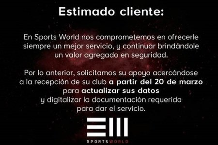 Sports World Lago Alberto